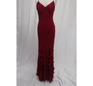 Coast Evening Dress and matching Bag Red Size: 12