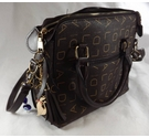 Aolida Handbag Brown Size: Not specified