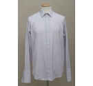 Gieves & Hawkes Smart double cuff shirt Grey/pink/white Size: M