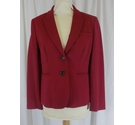 Boden Smart Red Jacket Red Size: 12