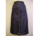 M&S Marks & Spencer denim skirt blue Size: 10