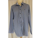 Magee Magee tailored fit shirt Blue and white Size: XL