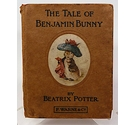 The Tale of Benjamin Bunny Beatrix Potter Rare 1st Edition 1904 F. Warne & Co Missprints