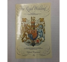 Official Programme of the 1981 Wedding of HRH The Prince of Wales and Lady Diana Spencer