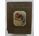 The Tale of Mrs. Tiggy-Winkle Beatrix Potter Rare 1st Edition 1905 F. Warne & Co Misprint Peter R