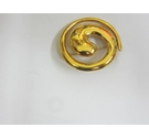 Tantalising Marks and Spencer Coil Brooch