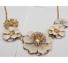 Delightful Petal Crystalic Statement Necklace