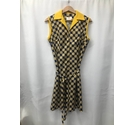 Evans Vintage dress Blue and Yellow Size: 16