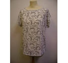 M&S Collection t shirt blouse multi Size: 10