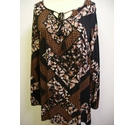 Dorothy Perkins top floral Size: 12