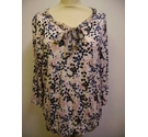 M&CO long sleeve top floral Size: 14