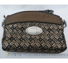 Adolfo Dominguez Handbag Brown and Gold Size: S