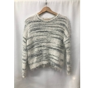 New Look round neck sweater Black/White Size: 12
