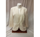 Jacques Vert Formal Jacket Cream Size: 12