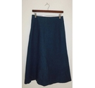 Massimo Dutti Calf-Length Skirt Blue Size: 10
