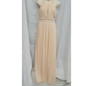 Pretty pastel coloured occasion dress, ideal for bridesmaid or evening/party. Approx size medium