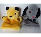 Sooty and Sweep glove puppets