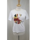Rare Vivienne Westwood Marmite love and hate t shirt vintage white Size: M