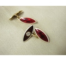 Gold marked 18ct gold cufflinks Gold Size: Shirt Sleeve