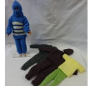 Handknitted bundle of Action Man / Ken doll clothes