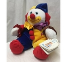 Vintage soft toy clown 'Marcel' by Les Petits for Applause