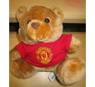 Manchester United 9 inch medium T shirt bear, official merchandise