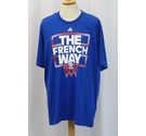 "Adidas NEW ""The French Way"" T-Shirt Blue Size: XXL"