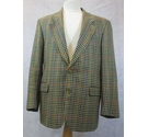 Berwin & Berwin vintage wool jacket checked Size: L