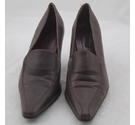 Paco Albert Court Shoes Burgundy Size: 5