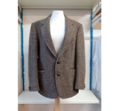 Charles Barker Herringbone Wool Sport Jacket Harris Tweed Size: S