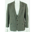 Skopes Vintage 44R Wool Blend Jacket Grey Size: L