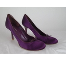 Kurt Geiger Court Shoe Purple Size: 4