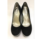 Guess Heeled Court Black Size: 5.5
