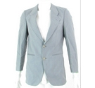 "VINTAGE Austin Reed 36"" Wool Blend Suit Jacket Light Blue Size: S"