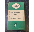 1946 Penguin Books, Policeman's Lot by Henry Wade