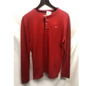 Hollister textured long sleeved top Red Size: S