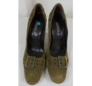 Carvela Vintage Court Shoe Green Size: 5