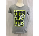 Adidas Neo men's T-Shirt with print grey Size: S