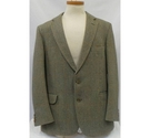 Magee Clothing Tweed Suit Green Size: M