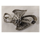 Marcasite Style Brooch