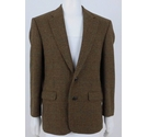 St Michael Single-breasted Suit Jacket Brown Size: M