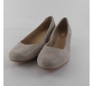 Hotter Suede Shoes Beige Size: 9