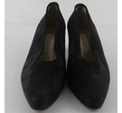 Vivaldi Smart Suede Court Shoes Black Size: 5