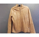 LAKELAND LEATHER JACKET LEATHER JACKET BROWN /TAN Size: L