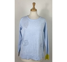 Lisa Todd BNWT Jumper Ice Blue Size: S