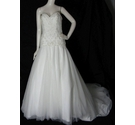 "BNWT Watters Wtoo Bridal Strapless ""Traci"" Wedding Gown Ivory Size 8"