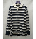 timberland Rugby Shirt Blue and White Size: XL