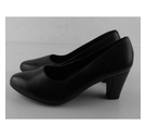 NWOT Hotter Leather Court Shoes Black Size: 5.5