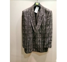 Bruno Kircher Smart Casual Jacket Textured Grey Size: L