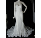 "BNWT Willowby by Watters Fit and Flare ""Miriam"" Wedding Dress Ivory Size 10"